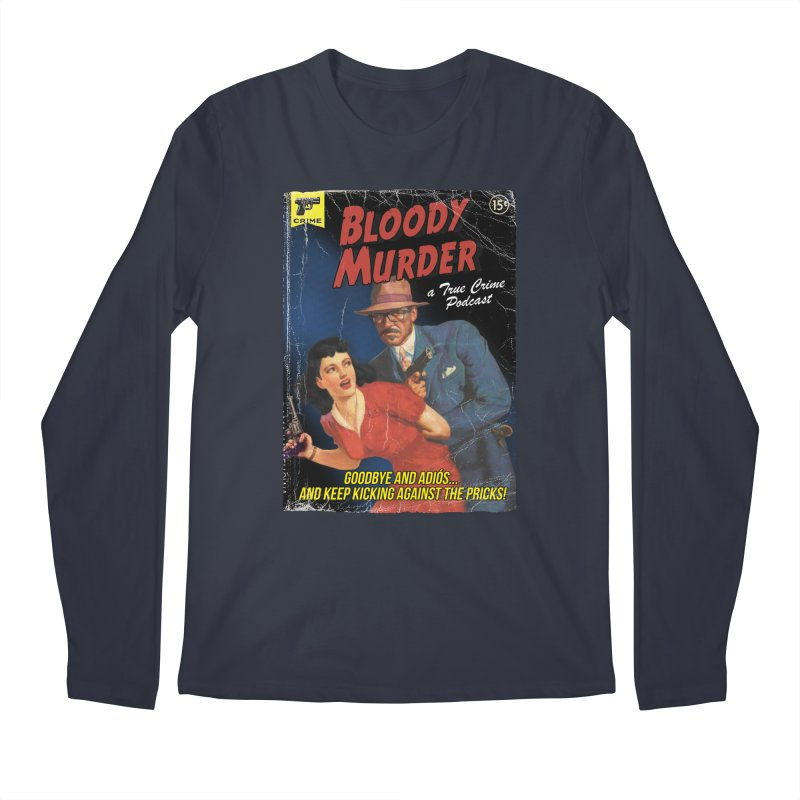 Bloody Murder Pulp Novel Men's Regular Longsleeve T-Shirt by bloodymurder's Artist Shop
