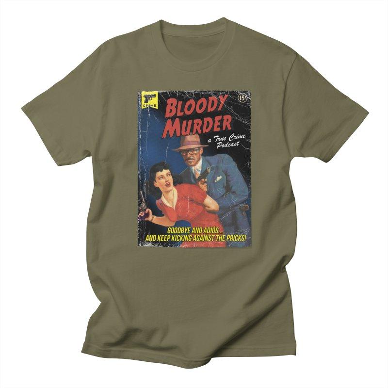Bloody Murder Pulp Novel Women's Regular Unisex T-Shirt by Bloody Murder's Artist Shop