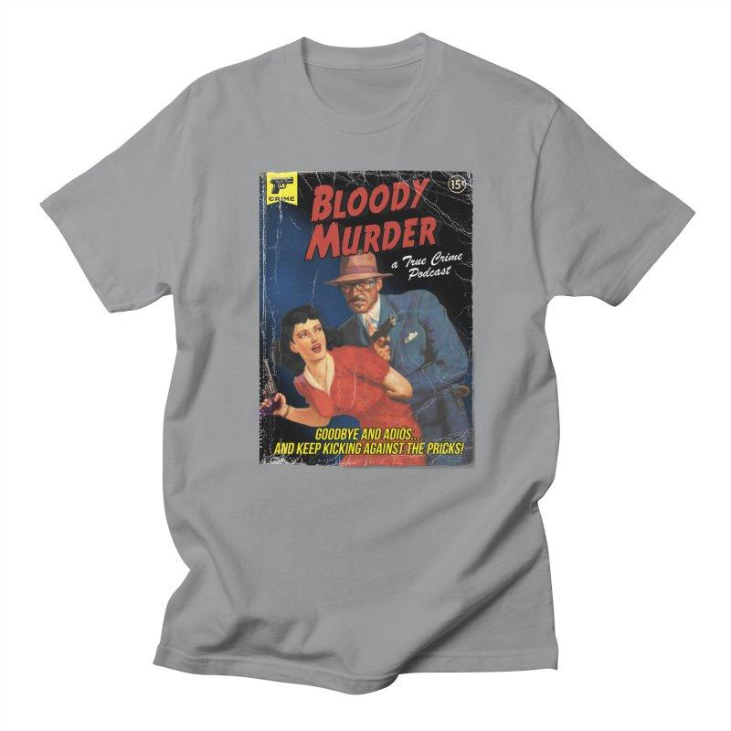 Bloody Murder Pulp Novel Men's Regular T-Shirt by bloodymurder's Artist Shop