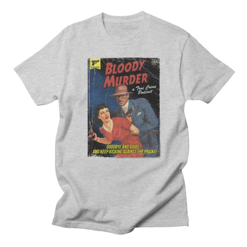 Bloody Murder Pulp Novel Men's Regular T-Shirt by Bloody Murder's Artist Shop