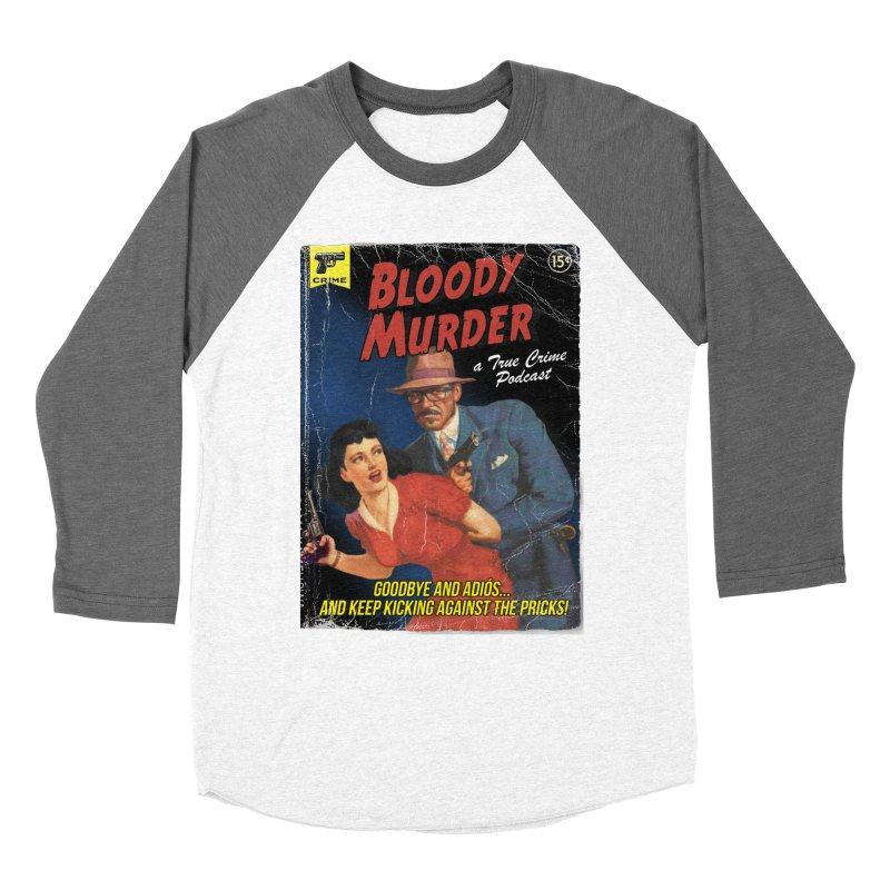 Bloody Murder Pulp Novel Men's Baseball Triblend Longsleeve T-Shirt by bloodymurder's Artist Shop
