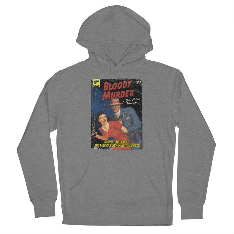 Bloody Murder Pulp Novel Women's Pullover Hoody by Bloody Murder's Artist Shop