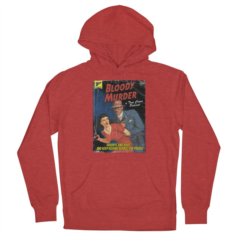Bloody Murder Pulp Novel Men's French Terry Pullover Hoody by Bloody Murder's Artist Shop