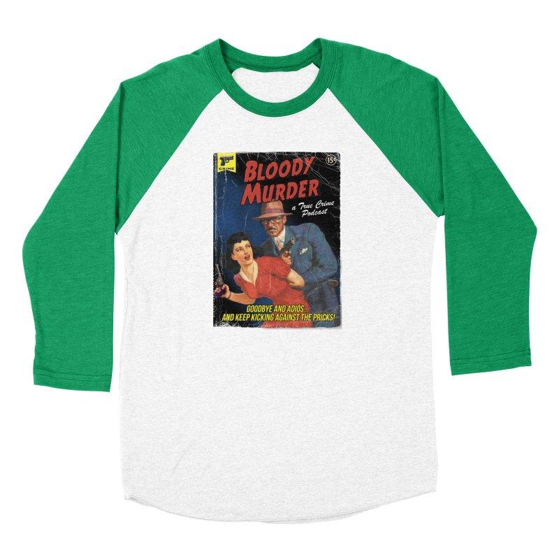 Bloody Murder Pulp Novel Women's Longsleeve T-Shirt by Bloody Murder's Artist Shop