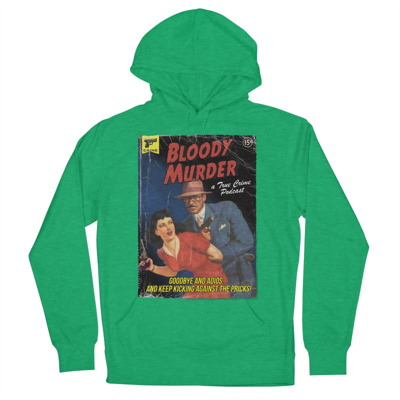 Bloody Murder Pulp Novel Women's French Terry Pullover Hoody by Bloody Murder's Artist Shop