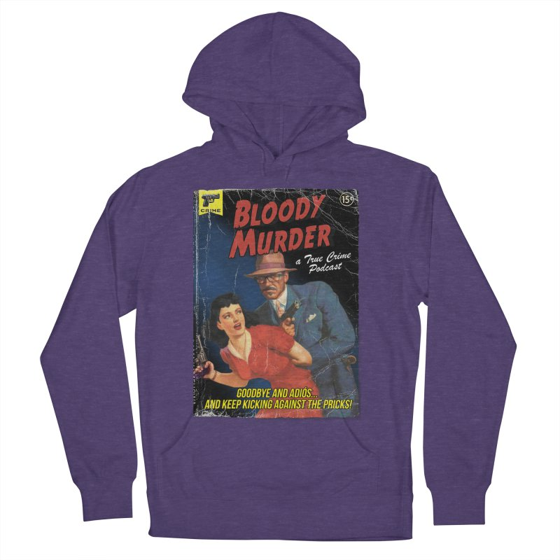 Bloody Murder Pulp Novel Men's French Terry Pullover Hoody by bloodymurder's Artist Shop