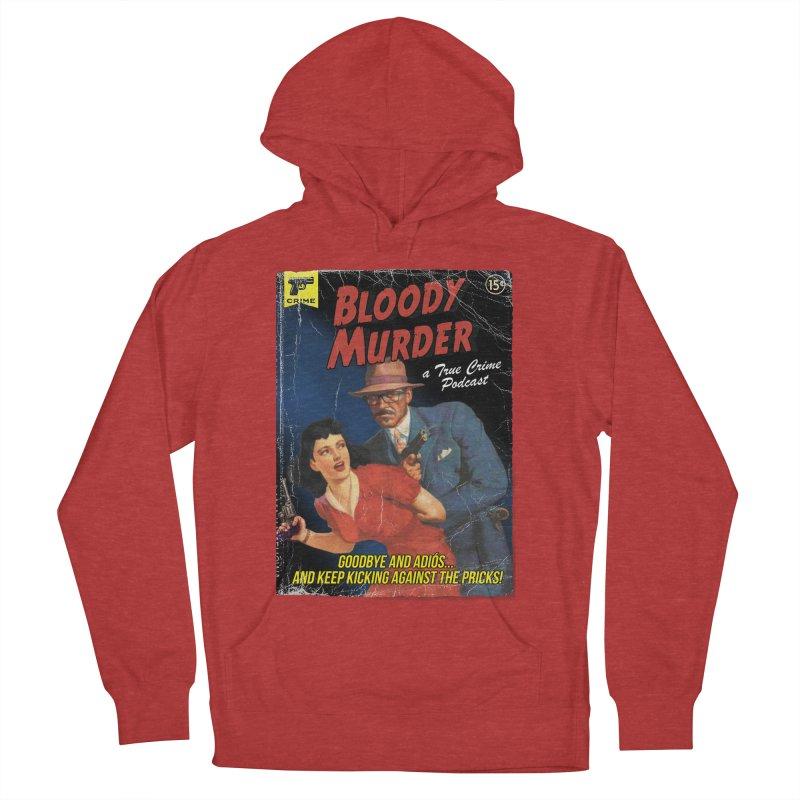 Bloody Murder Pulp Novel Men's French Terry Pullover Hoody by bloodymurder's Artist Shop