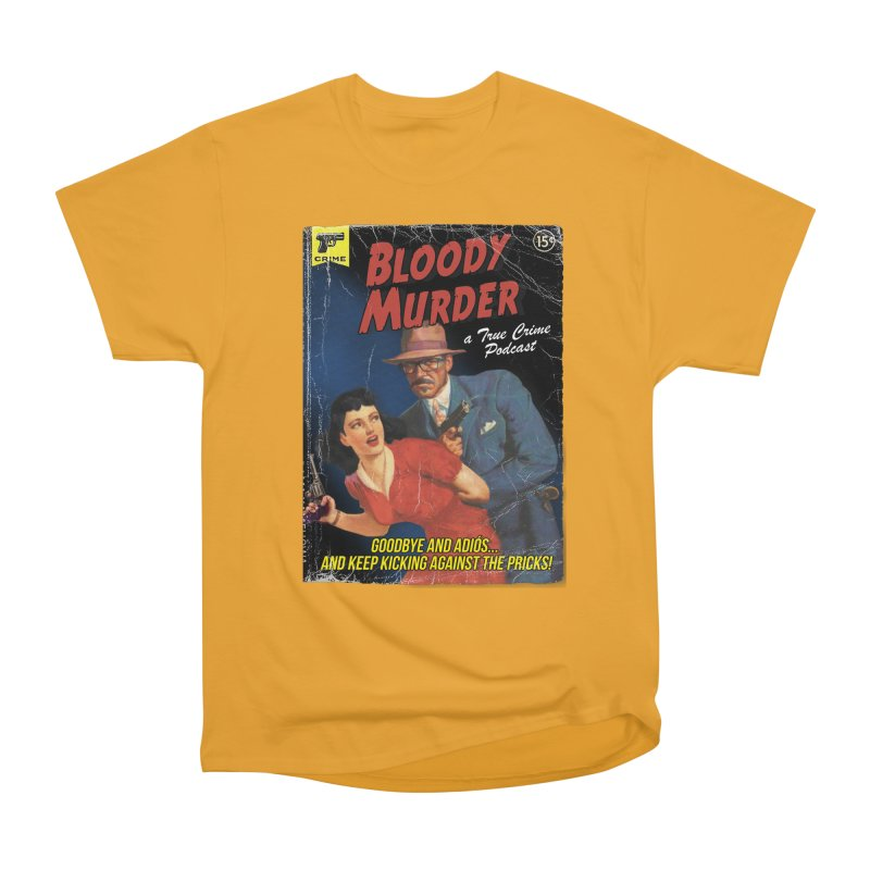 Bloody Murder Pulp Novel Men's Heavyweight T-Shirt by Bloody Murder's Artist Shop