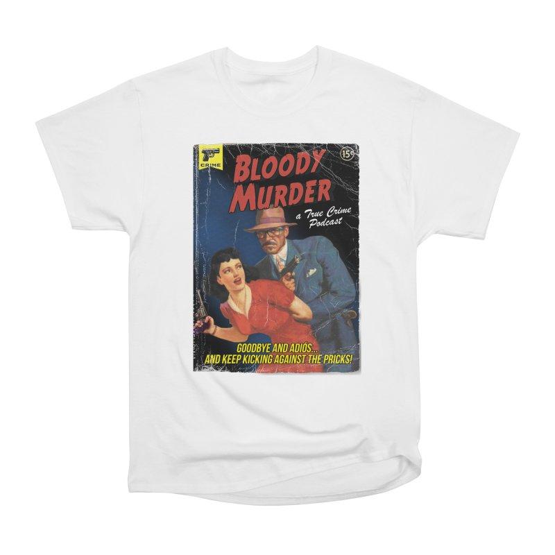 Bloody Murder Pulp Novel Women's Heavyweight Unisex T-Shirt by Bloody Murder's Artist Shop