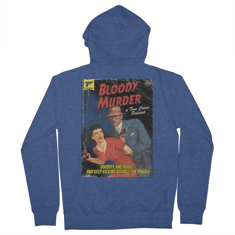Bloody Murder Pulp Novel Women's French Terry Zip-Up Hoody by Bloody Murder's Artist Shop
