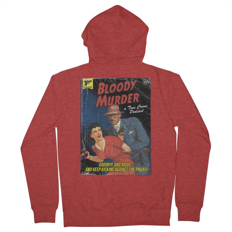 Bloody Murder Pulp Novel Women's French Terry Zip-Up Hoody by bloodymurder's Artist Shop