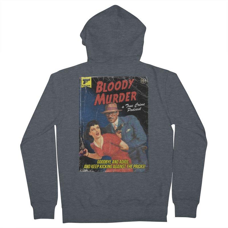 Bloody Murder Pulp Novel Men's Zip-Up Hoody by Bloody Murder's Artist Shop