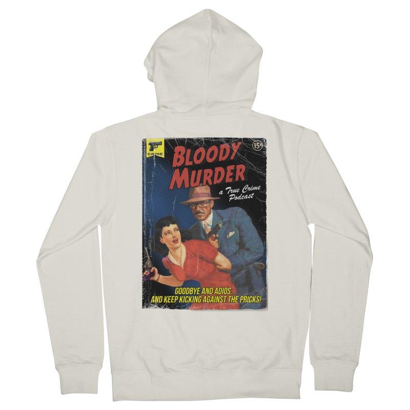 Bloody Murder Pulp Novel Men's French Terry Zip-Up Hoody by Bloody Murder's Artist Shop