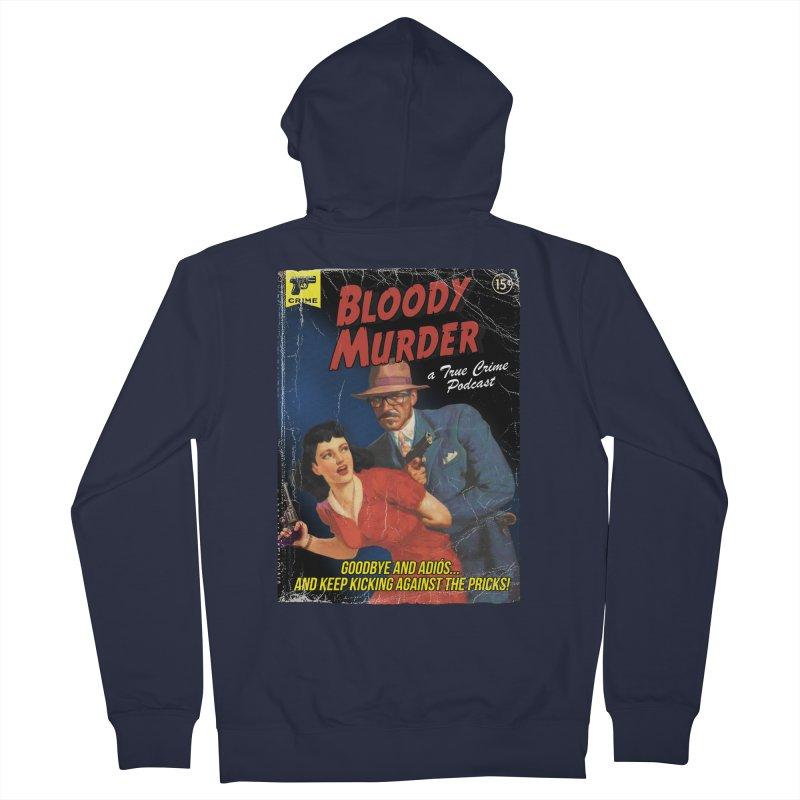 Bloody Murder Pulp Novel Men's French Terry Zip-Up Hoody by bloodymurder's Artist Shop