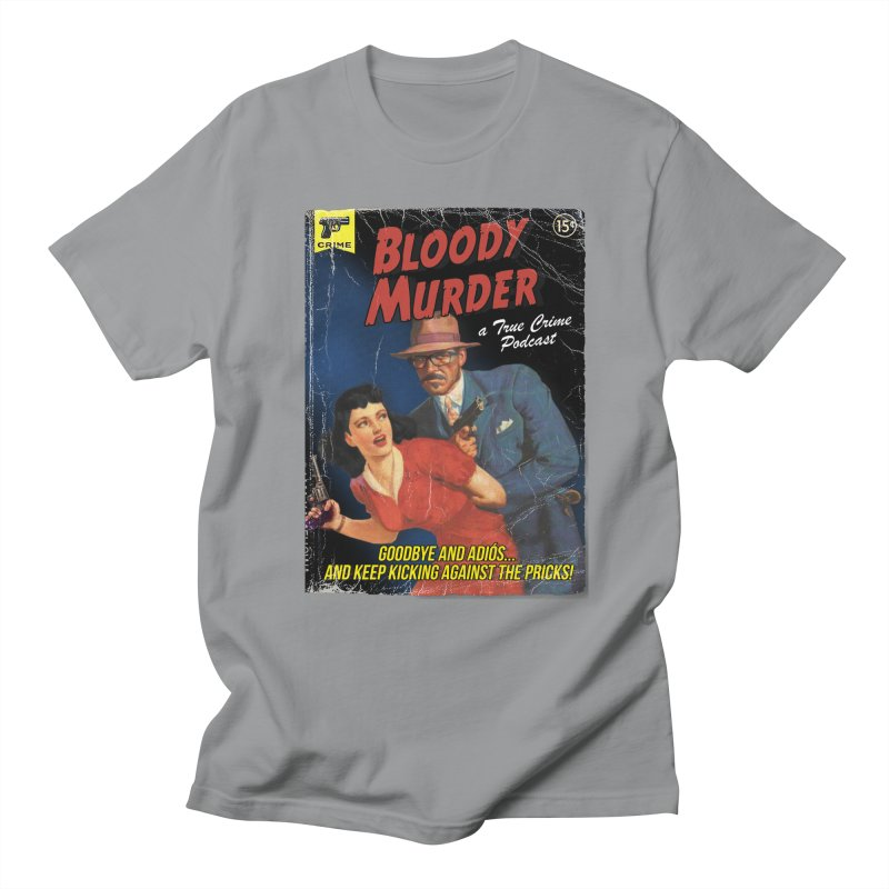 Bloody Murder Pulp Novel Men's Regular T-Shirt by Bloody Murder's Artist Shop
