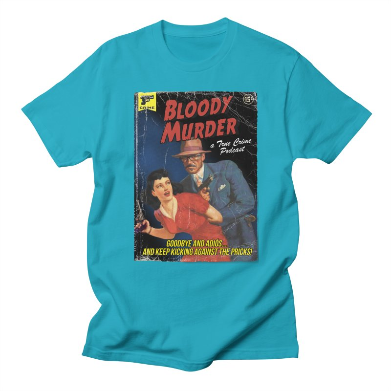 Bloody Murder Pulp Novel Men's T-Shirt by Bloody Murder's Artist Shop