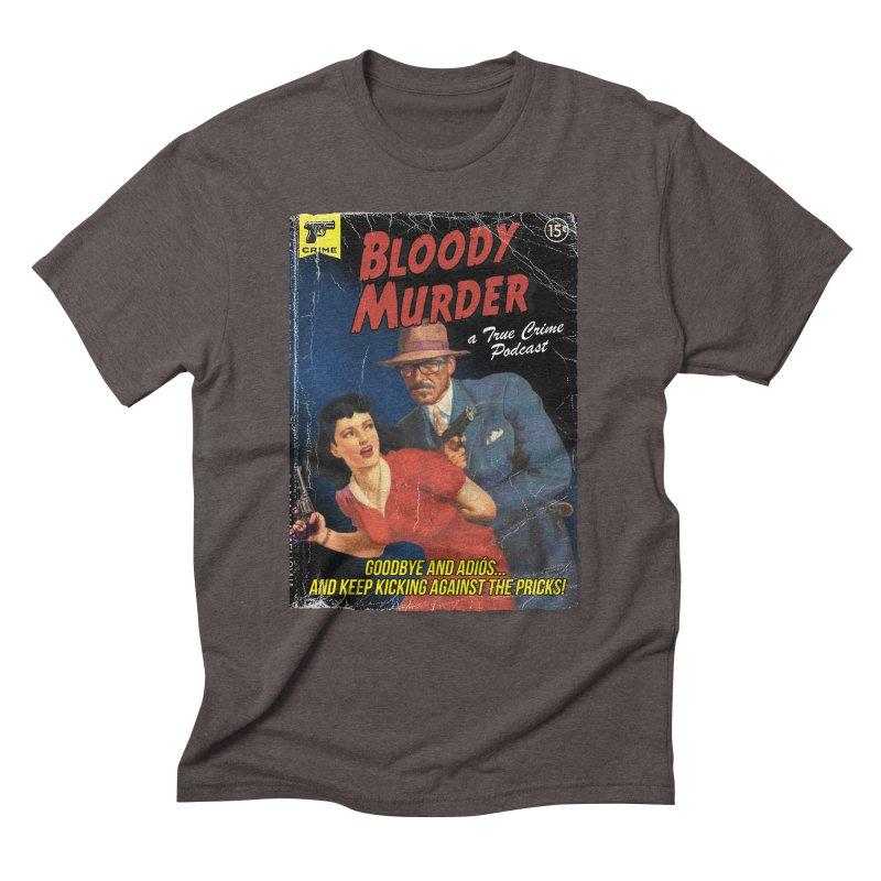 Bloody Murder Pulp Novel Men's Triblend T-Shirt by Bloody Murder's Artist Shop