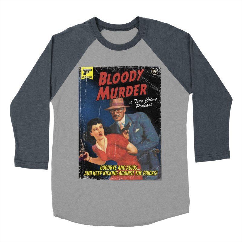 Bloody Murder Pulp Novel Women's Baseball Triblend Longsleeve T-Shirt by Bloody Murder's Artist Shop