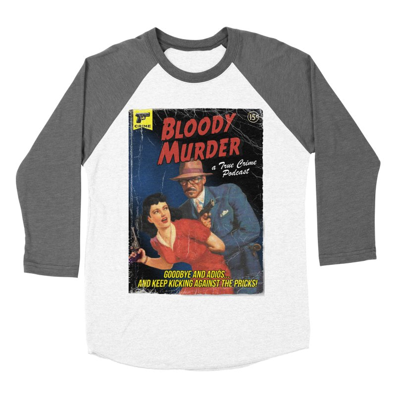 Bloody Murder Pulp Novel Men's Longsleeve T-Shirt by Bloody Murder's Artist Shop