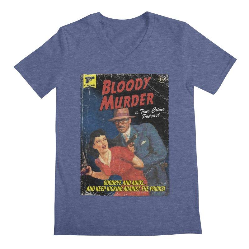 Bloody Murder Pulp Novel Men's Regular V-Neck by bloodymurder's Artist Shop