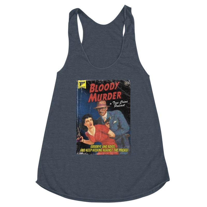 Bloody Murder Pulp Novel Women's Racerback Triblend Tank by Bloody Murder's Artist Shop
