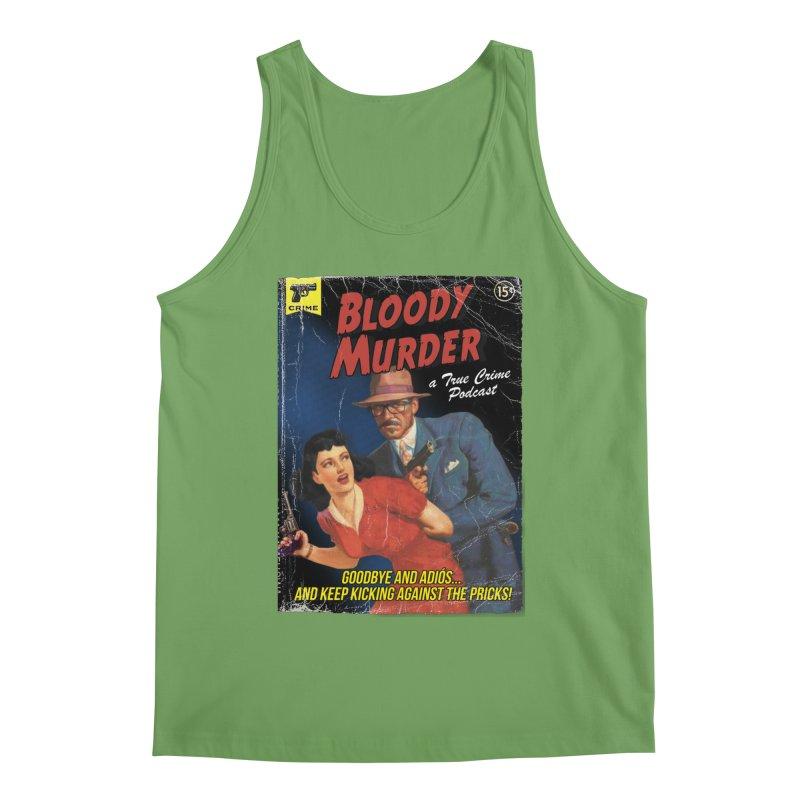 Bloody Murder Pulp Novel Men's Tank by Bloody Murder's Artist Shop