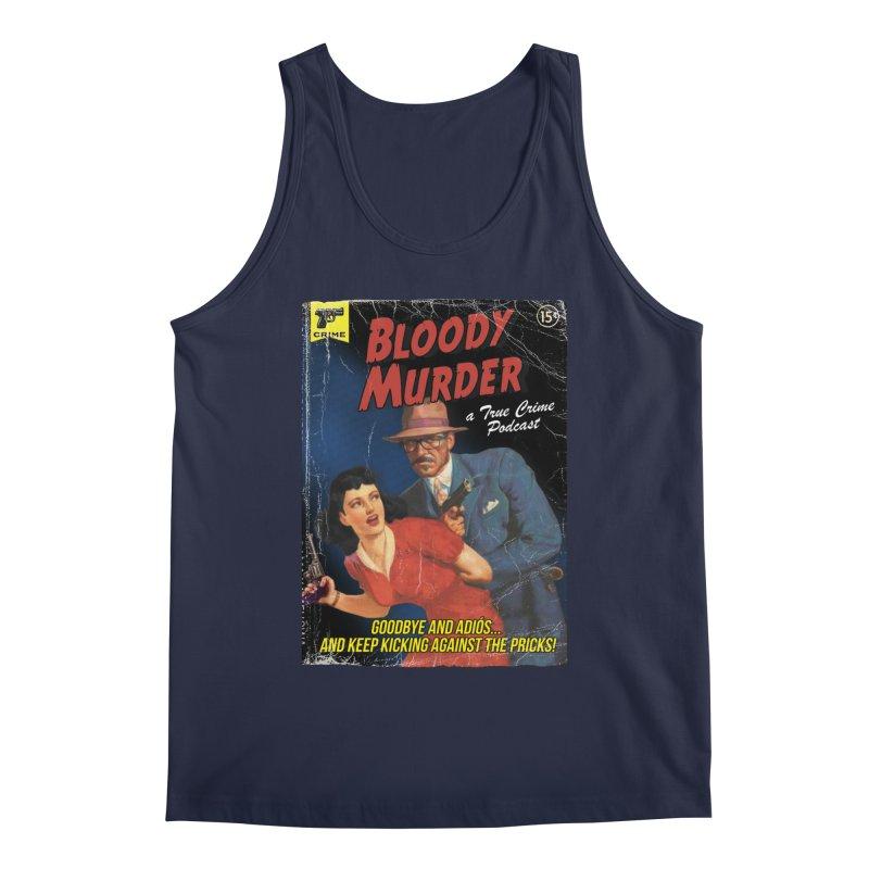 Bloody Murder Pulp Novel Men's Regular Tank by Bloody Murder's Artist Shop