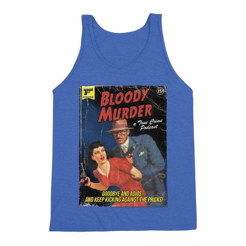 Bloody Murder Pulp Novel Men's Triblend Tank by Bloody Murder's Artist Shop