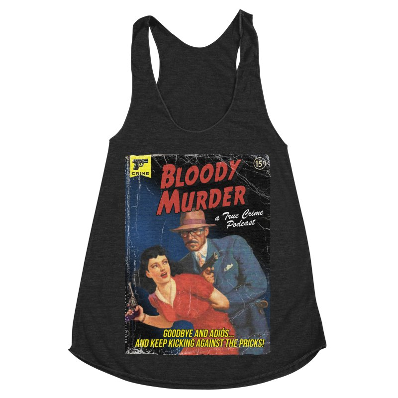 Bloody Murder Pulp Novel Women's Racerback Triblend Tank by Bloody Murder's Artist Shop
