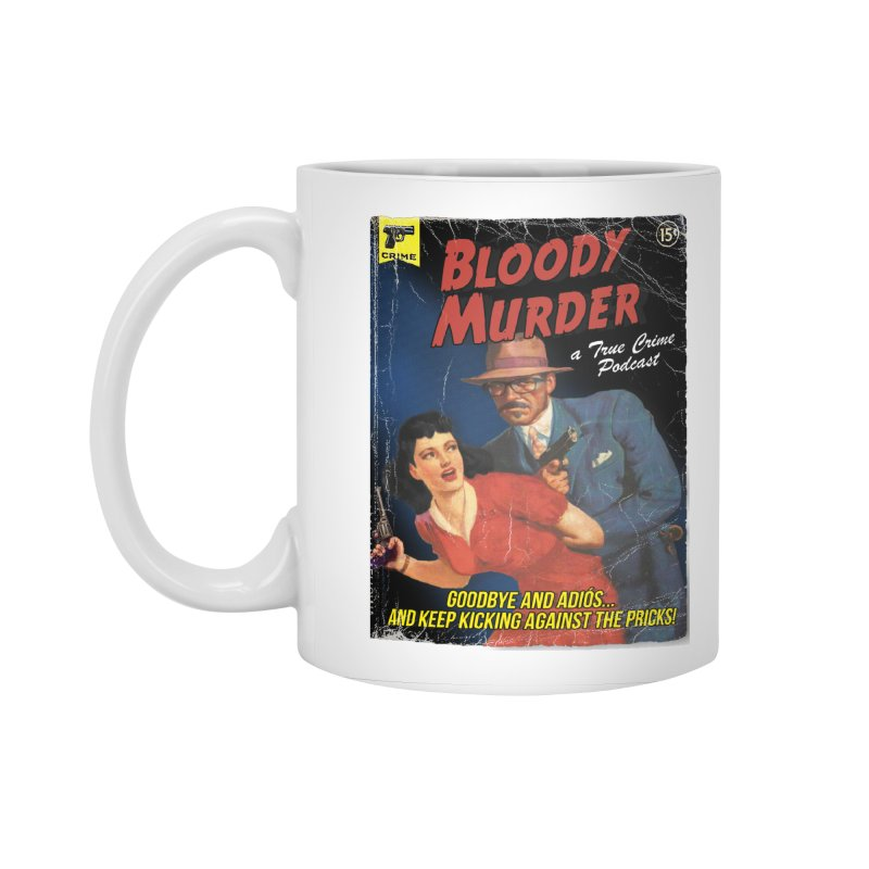Bloody Murder Pulp Novel Accessories Standard Mug by Bloody Murder's Artist Shop