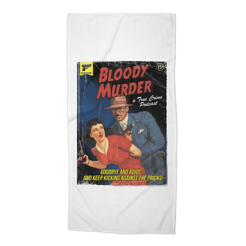 Bloody Murder Pulp Novel Accessories Beach Towel by bloodymurder's Artist Shop
