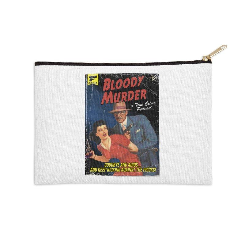 Bloody Murder Pulp Novel Accessories Zip Pouch by Bloody Murder's Artist Shop