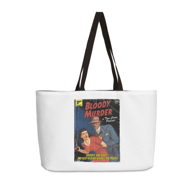 Bloody Murder Pulp Novel Accessories Bag by Bloody Murder's Artist Shop