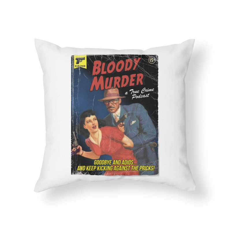 Bloody Murder Pulp Novel Home Throw Pillow by bloodymurder's Artist Shop