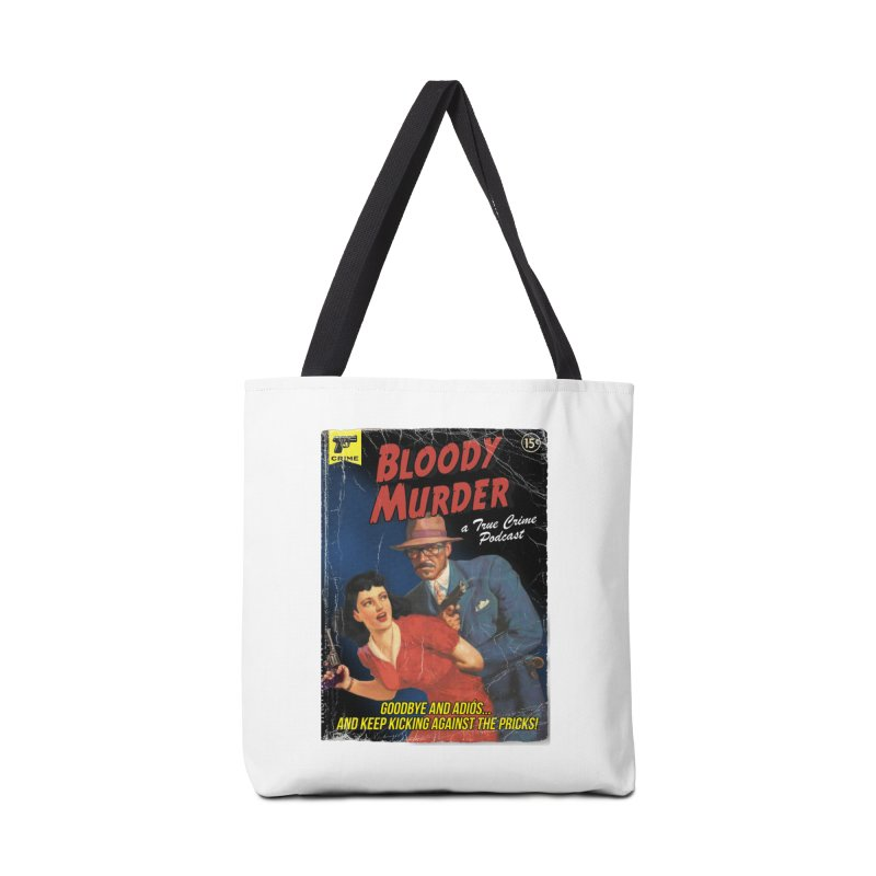 Bloody Murder Pulp Novel Accessories Bag by Bloody Murder's Artist Shop