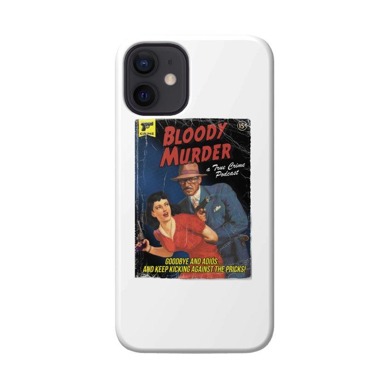 Bloody Murder Pulp Novel Accessories Phone Case by Bloody Murder's Artist Shop