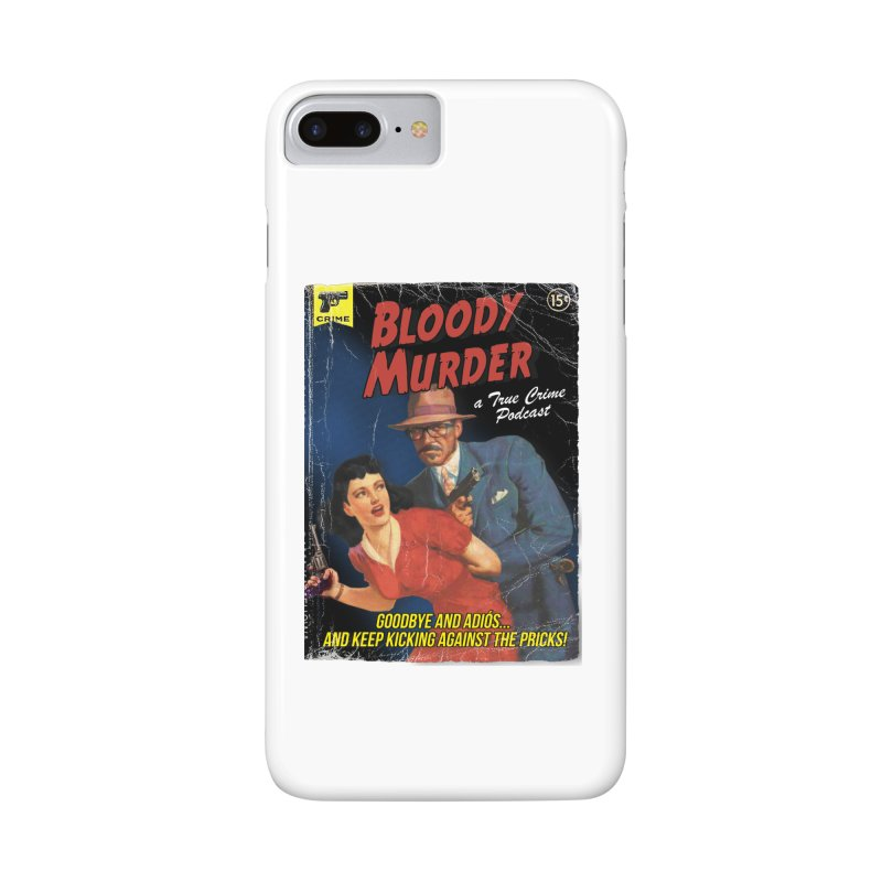 Bloody Murder Pulp Novel Accessories Phone Case by Bloody Murder's Artist Shop