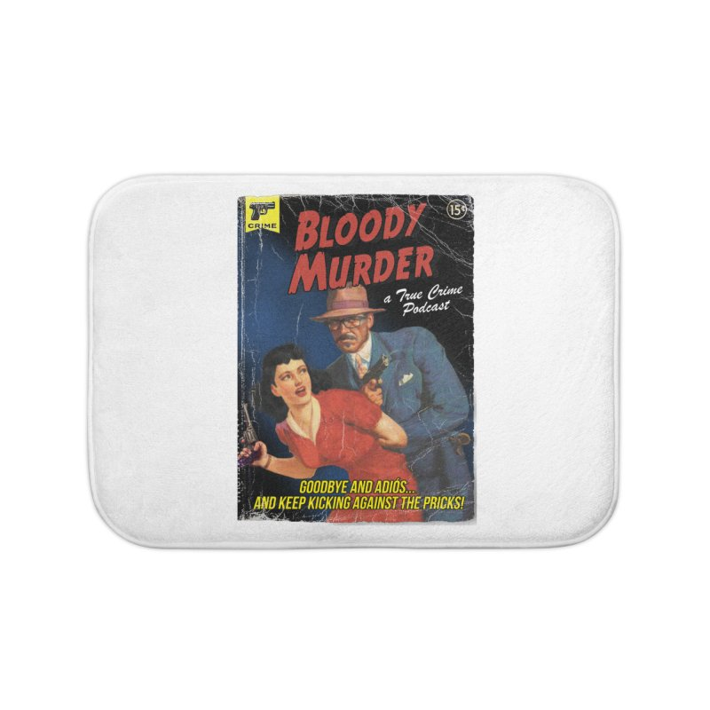 Bloody Murder Pulp Novel Home Bath Mat by Bloody Murder's Artist Shop