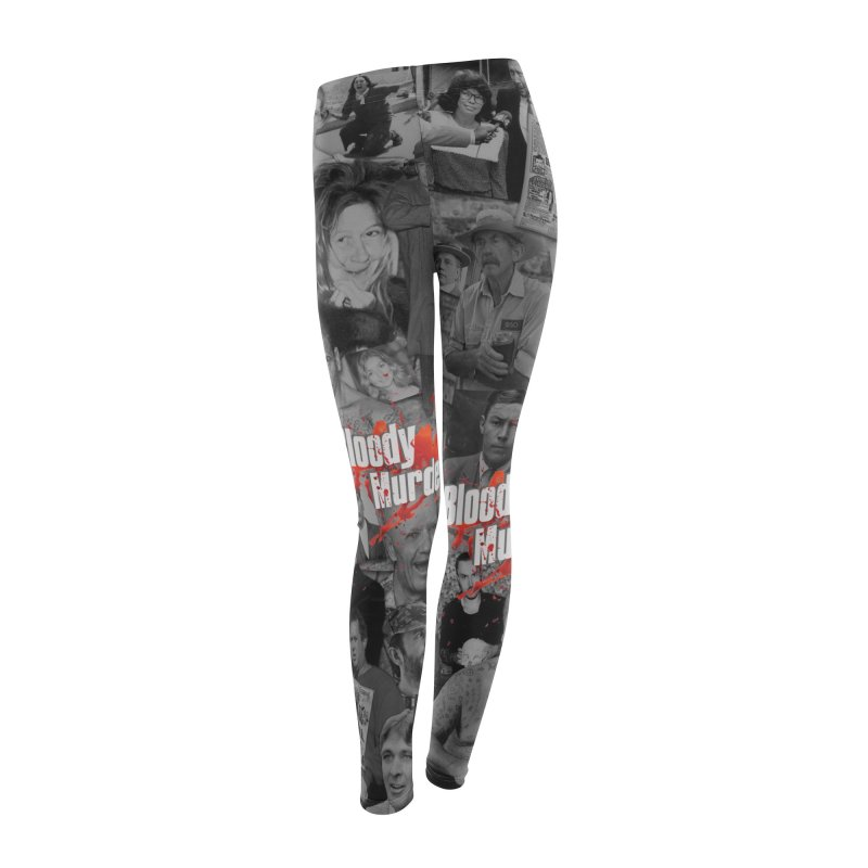 Bloody Murder Leggings! Women's Bottoms by Bloody Murder's Artist Shop