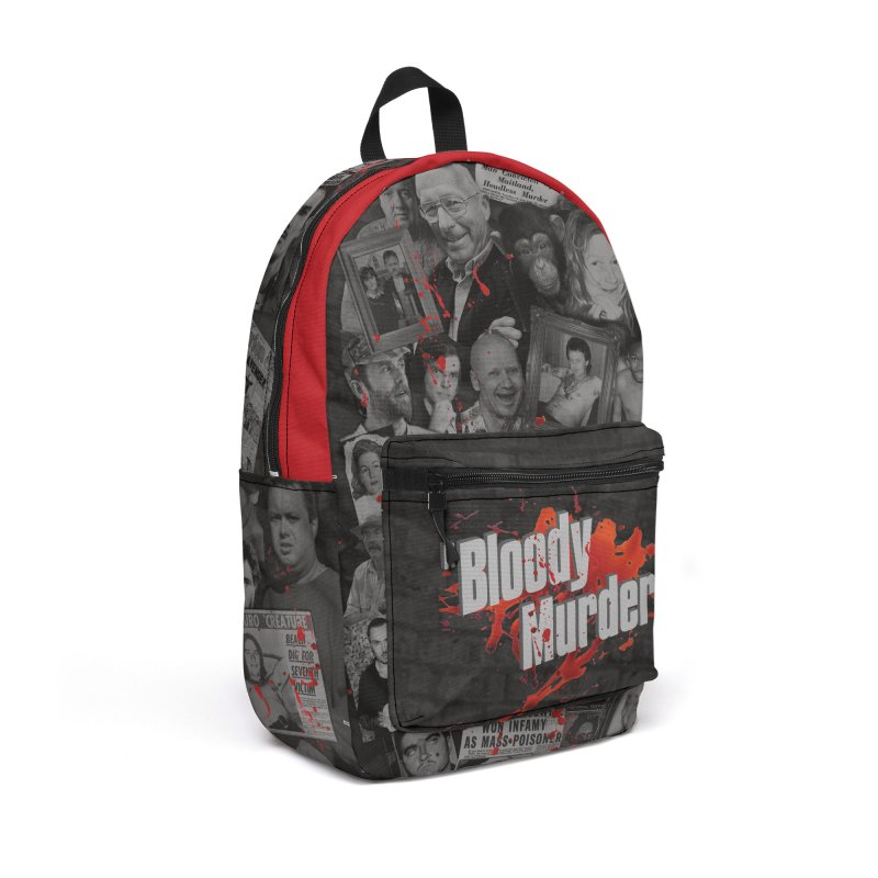 Bloody Murder Faces Backpack Accessories Bag by bloodymurder's Artist Shop