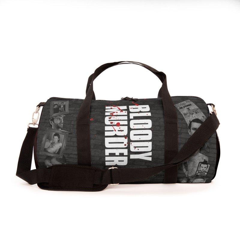 Bloody Murder Tri-Tone Duffel Bag Accessories Bag by Bloody Murder's Artist Shop