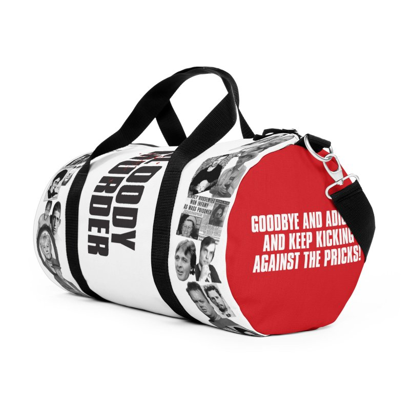 Bloody Murder Tri-Tone Duffel Bag Accessories Duffel Bag Bag by Bloody Murder's Artist Shop