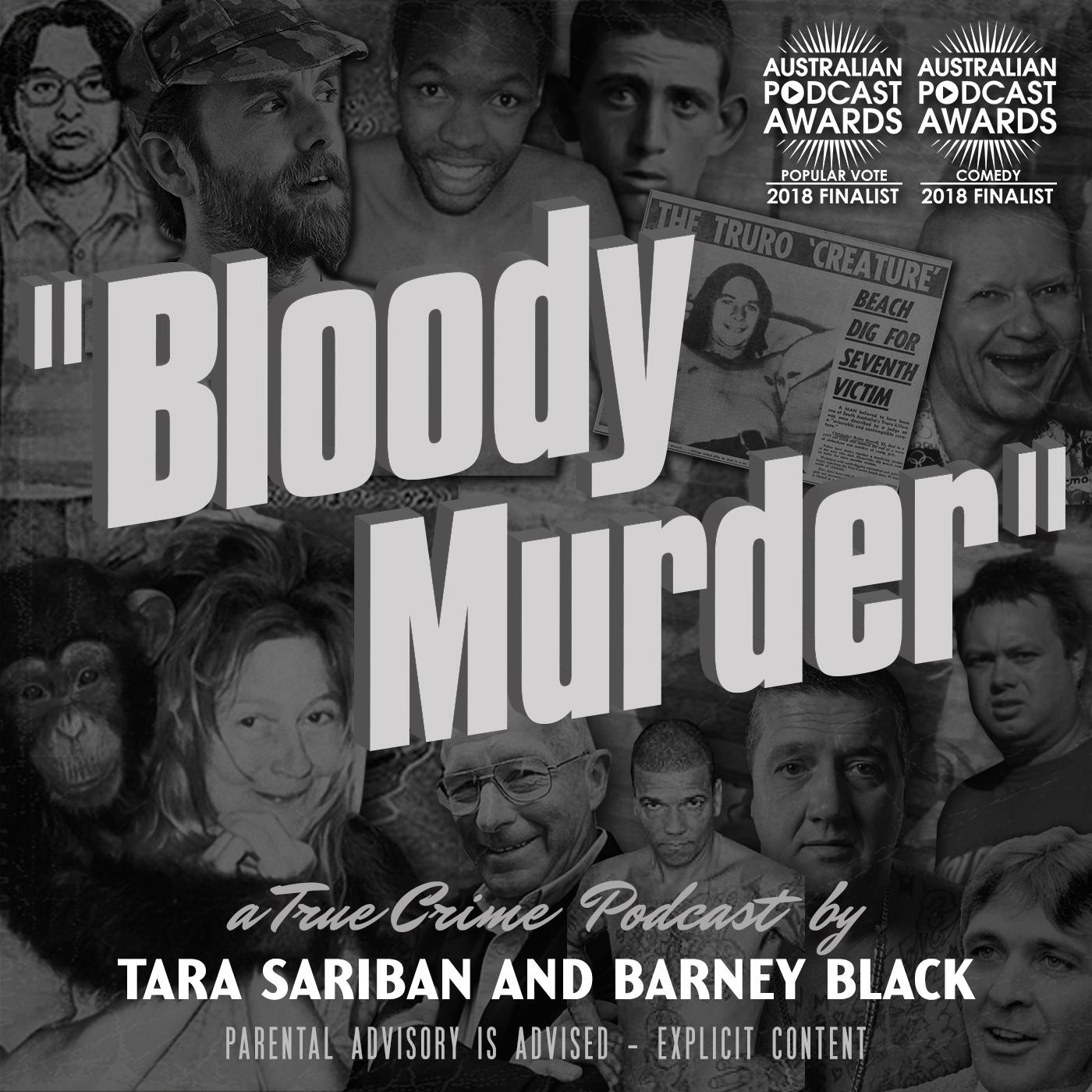 Bloody Murder's Artist Shop Logo