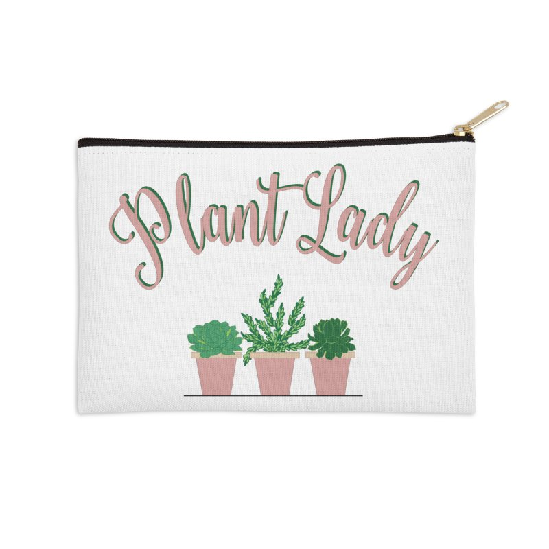 Plant Lady Accessories Zip Pouch by Bloom & Grow Radio Shop
