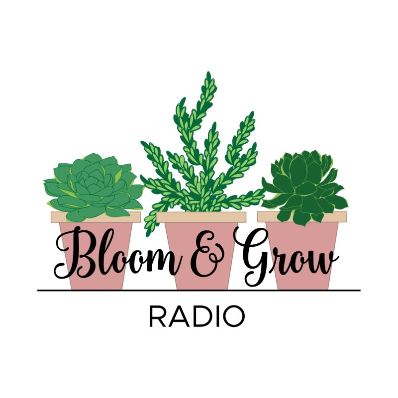 Bloom And Grow Radio Accessories Sticker by Bloom & Grow Radio Shop