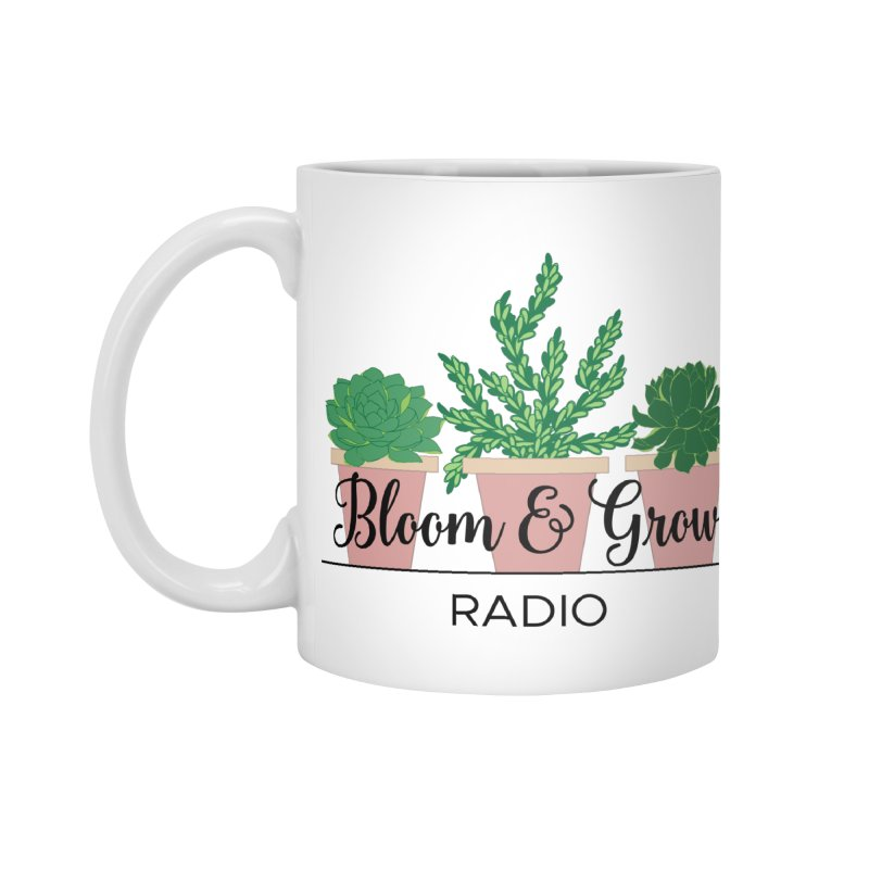 Bloom And Grow Radio Accessories Standard Mug by Bloom & Grow Radio Shop