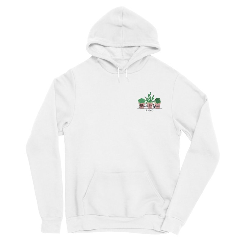 Bloom And Grow Radio Men's Pullover Hoody by Bloom & Grow Radio Shop