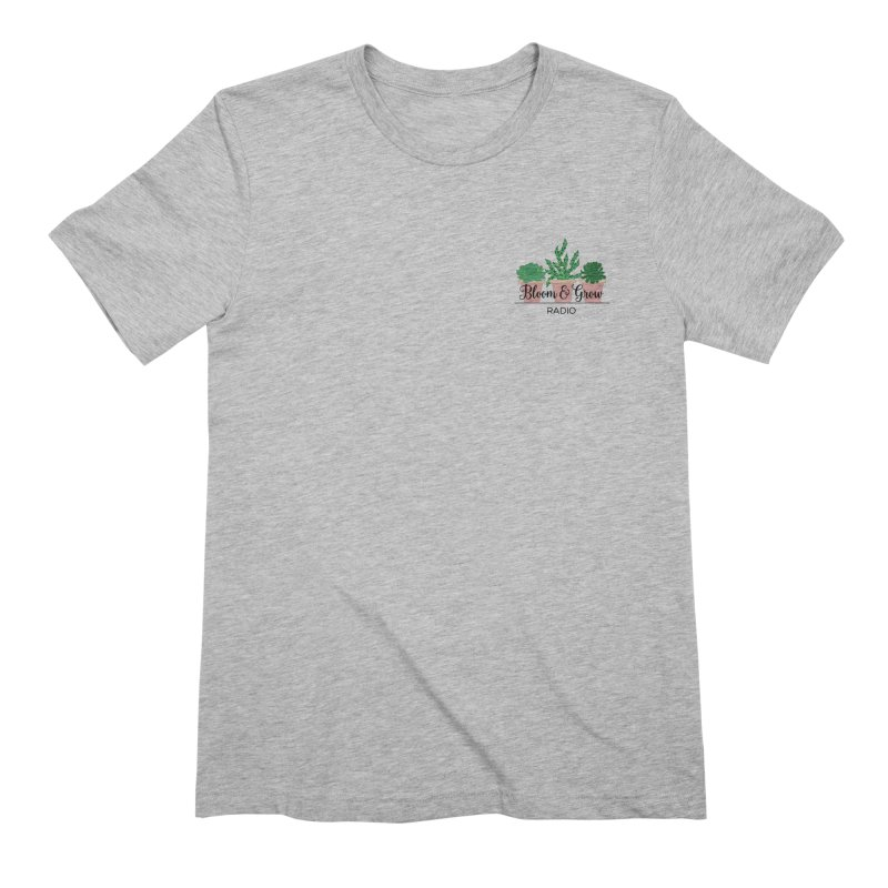 Bloom And Grow Radio Men's T-Shirt by Bloom & Grow Radio Shop