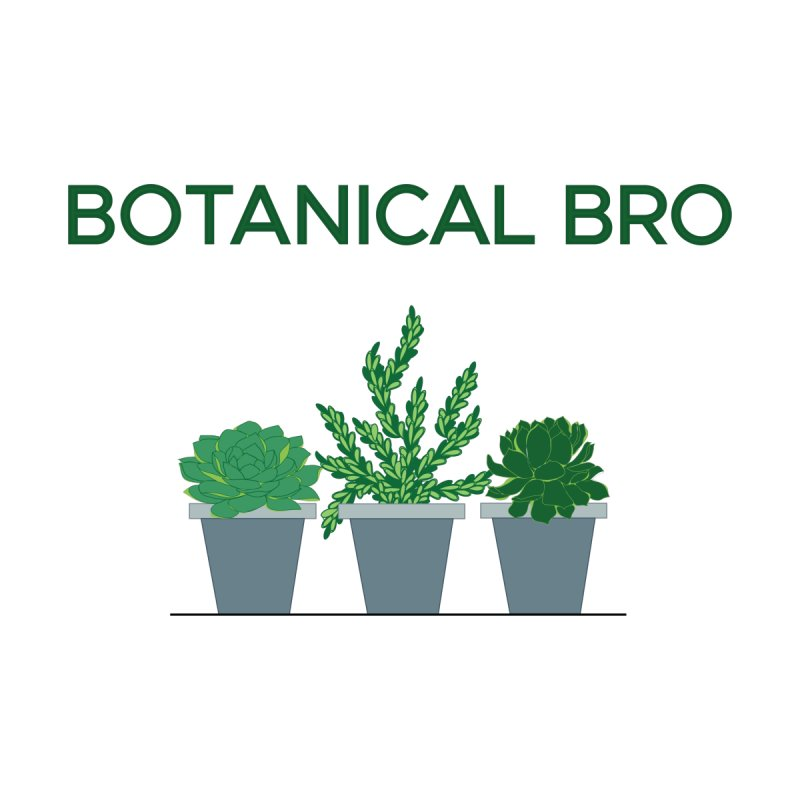 Botanical Bro Men's T-Shirt by Bloom & Grow Radio Shop