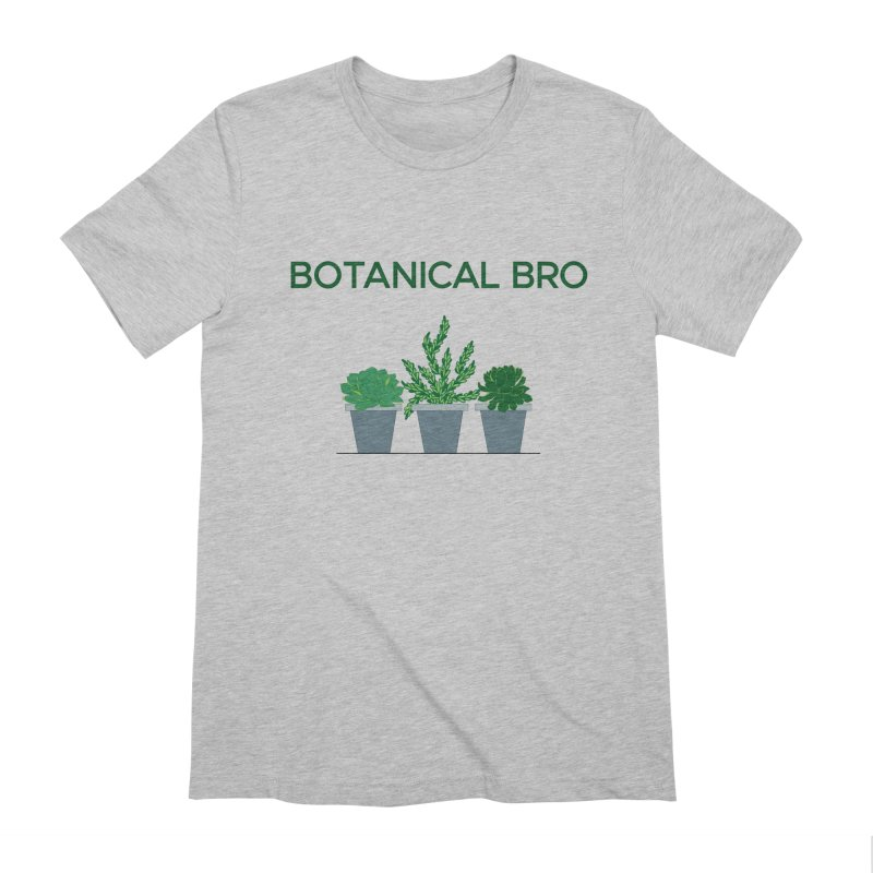 Botanical Bro Men's Extra Soft T-Shirt by Bloom & Grow Radio Shop